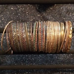 Tons of Bangles - 3 different sets (Free w/purchas